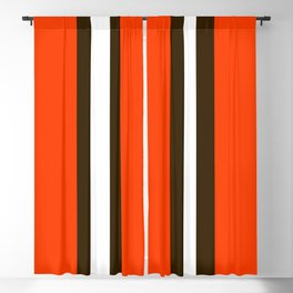 Cleveland Team Colors Blackout Curtain