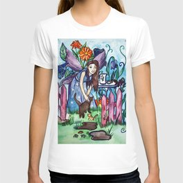 Blue Fairy´s Garden T-shirt