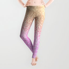 GOLD PINK II Leggings