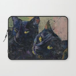 Black Cats Laptop Sleeve