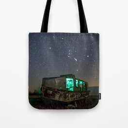 Chasing Orion Tote Bag