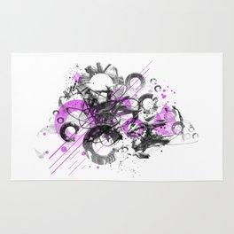 Abstract Art GEOMETRIC SHAPES No. 1 Rug