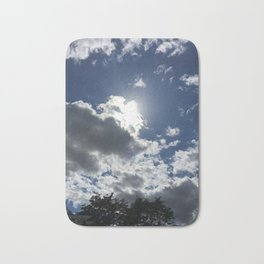 Cloudy Bath Mat