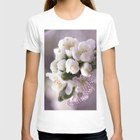 cherry blossom T-shirts featuring Cherry blossom by LoRo  Art & Pictures