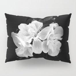 geranium in bw Pillow Sham