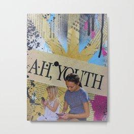 Ah, Youth Metal Print
