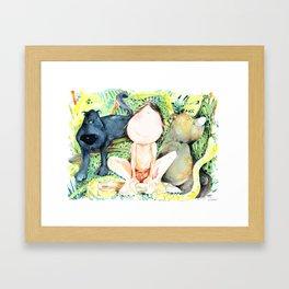 My Jungle BOOK Framed Art Print