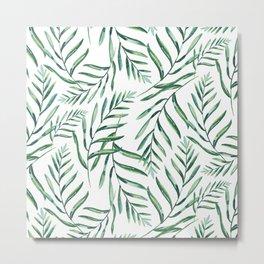 Ferns Metal Print
