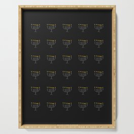 menorah 16- Hanukkah,jewish,jew,judaism,Festival of Lights,Dedication,jerusalem,lampstand,Temple, מְ Serving Tray