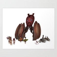 El Octobot. Art Print