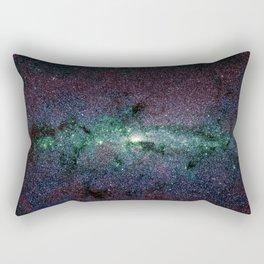 Milky Way Core Dark Unicorn Rectangular Pillow
