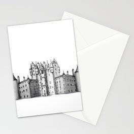 huge castle Stationery Cards