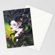 Queen of dragonflies Stationery Cards