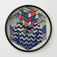 the xx Wall Clocks featuring XX by Steven Kline