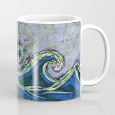 Batik waves 2 Mug