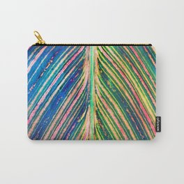 503 - Canna Leaf Abstract Carry-All Pouch