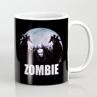 zombie Mugs featuring ZOMBIE by Zombie Rust