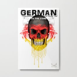 To The Core Collection: Germany Metal Print