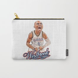 HUSTLE WESTBROOK! Carry-All Pouch