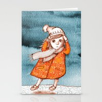 storm Stationery Cards featuring Storm by Alibabaform