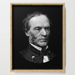 William Tecumseh Sherman Graphic Serving Tray