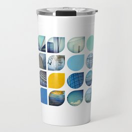 Cold Comfort Collage — The Blues Travel Mug