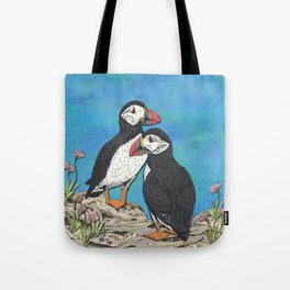 Puffin Perfection Tote Bag
