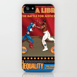 Lucha Libre, The Struggle iPhone Case