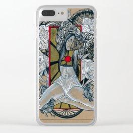 Eulalia Clear iPhone Case