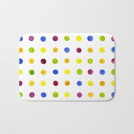 Candied Polka Dots Bath Mat