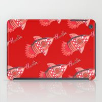 nba iPad Cases featuring ROCKETS HAND DRAWING DESIGN by SUNNY Design