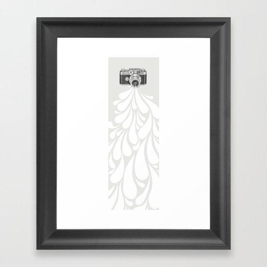 Worth a thousand words Framed Art Print