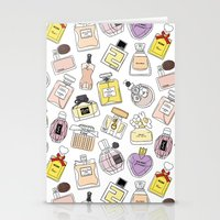 perfume Stationery Cards featuring Perfume by thedreamingclouds