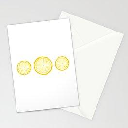 Lemony Fresh Stationery Cards