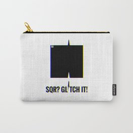 SQR? GLITCH IT! 1 Carry-All Pouch