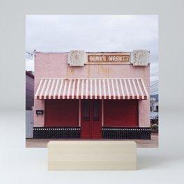 closed on sundays Mini Art Print