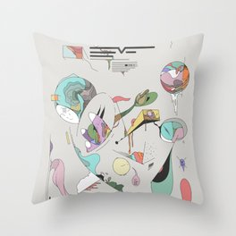 Data for the End Throw Pillow
