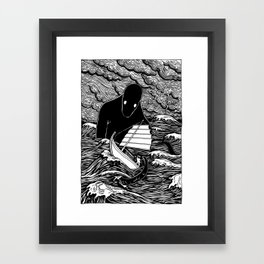 Umibōzu 海坊主 Framed Art Print