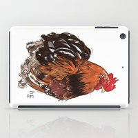 rooster iPad Cases featuring Rooster by misshannahgamble