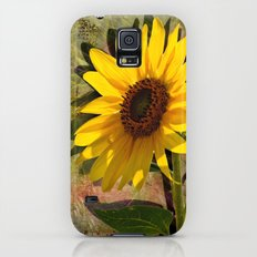 SUNFLOWERS, Double Sunshine Slim Case Galaxy S5