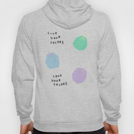 Words from Colorful Apples - fruits illustration Hoody