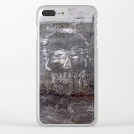 Badmouth Clear iPhone Case