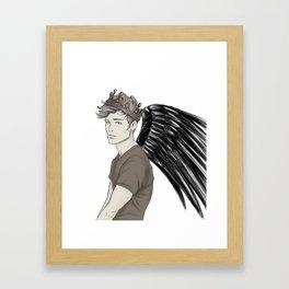 The Raven King Framed Art Print