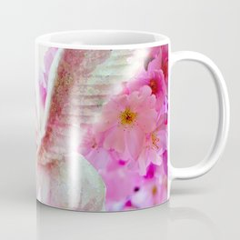 HORSE PINK FANTASY CHERRY BLOSSOMS Coffee Mug