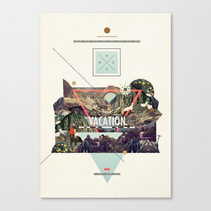 island Vacation Canvas Print