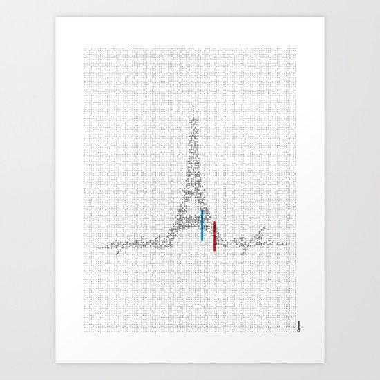 Eiffel Tower | Paris, France | Esperantos | StoryScape #1 Art Print