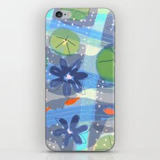 Lily Pond Life iPhone & iPod Skin