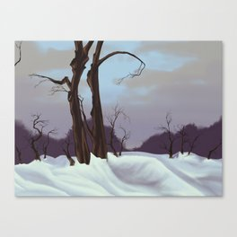 Winter Scape Canvas Print