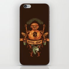 Royal Army iPhone & iPod Skin