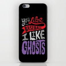 Baseball, Ghosts iPhone & iPod Skin